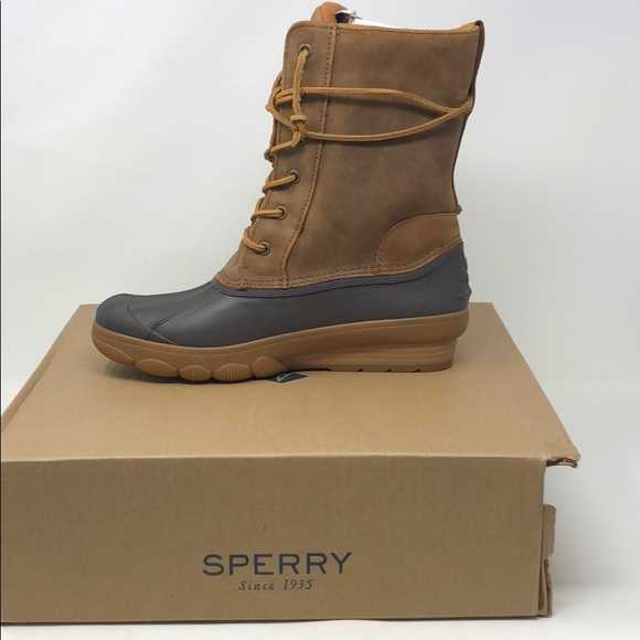 4af3e04c5702 Sperry Shoes - Women s Sperry saltwater wedge reeve tan boots b9